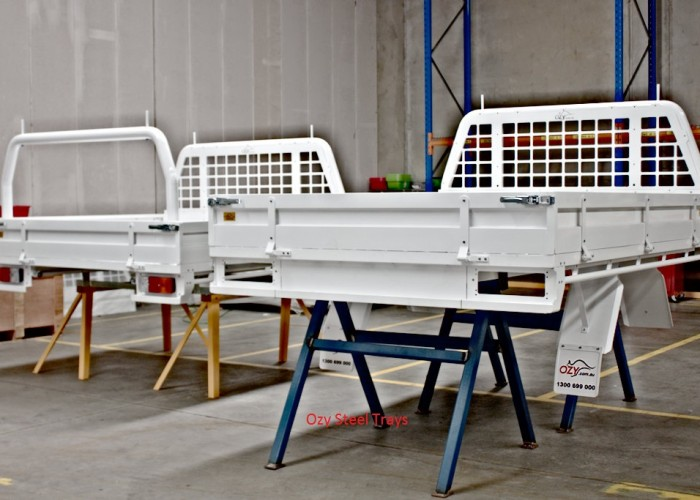 OZY Products - Aluminium and Steel Ute Trays